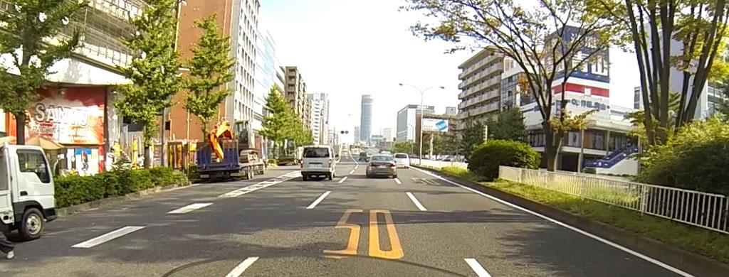 横浜環状2号線で速度違反