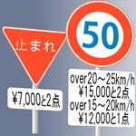 刑罰主義の交通規制